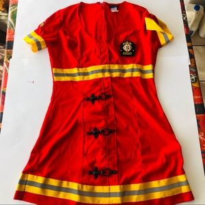 Dreamgirl firefighters dress ( large )